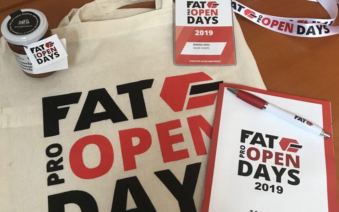 FAT Pro Open Days. Portes Obertes a la industria 4.0