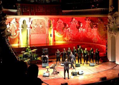 Per Nadal, Gospel. Concerts per a clients BBVA