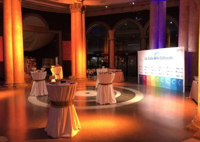 Càtering Gala Els Culturals FACC. Una nit de premis