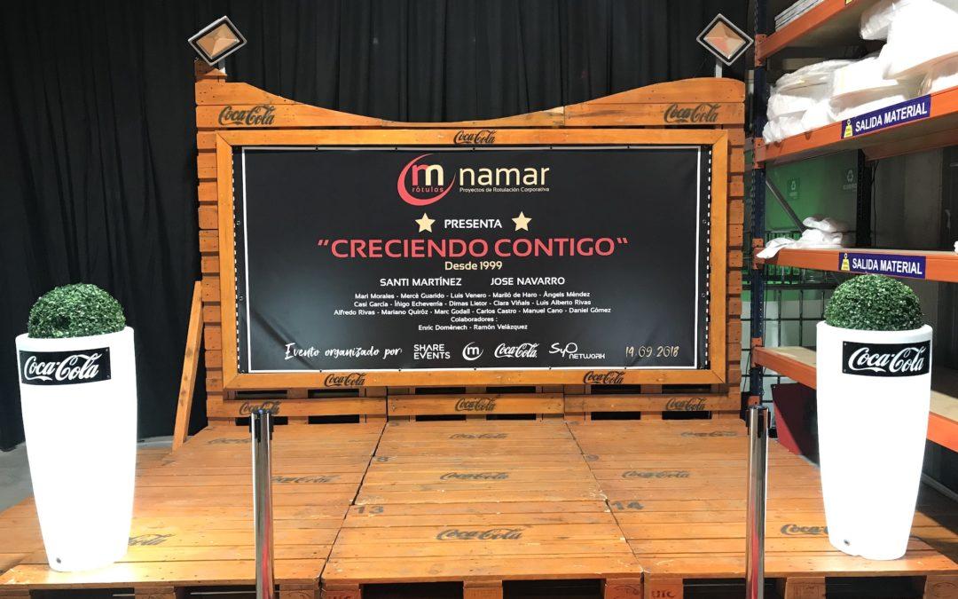 Un gran estreno. Inauguración nueva sede Rótulos Namar