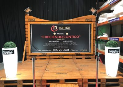 Una gran estrena. Inauguració nova seu Rótulos Namar
